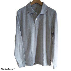 *3/$55*Lee Uniforms long-sleeve Polo cotton blend